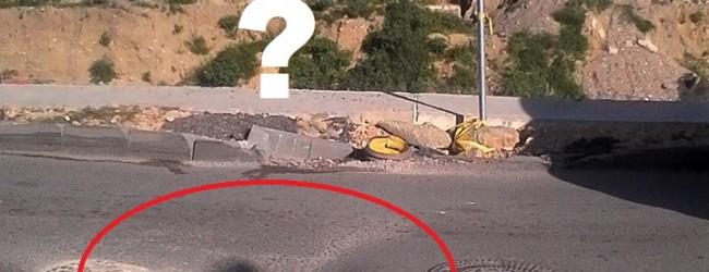 Новият асфалт на бул. Левски вече е пропаднал