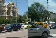 Брутални задръствания във Варна заради кърпене на дупки на Аспарухов мост!