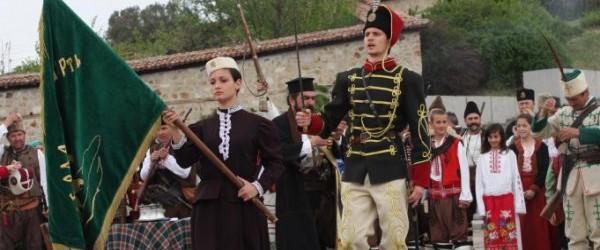 Патриотизъм: Възстановки на Априлското въстание в Панагюрище и Копривщица