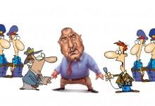 Наглост или неадекватност: Мачкат журналистиката, но това не бил проблем на Борисов?!?