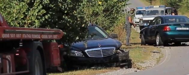Цвета Караянчева била ли е с колан по време на катастрофата?