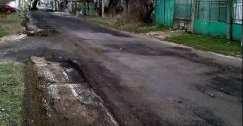 Герберастия: В Ловеч асфалтираха улица само заради посещение на министър, а после си прибраха асфалта!