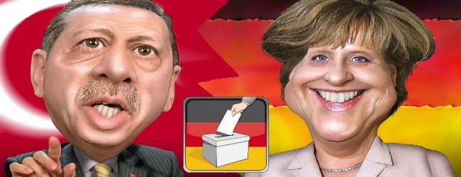 Меркел предупреди Ердоган да не се меси в изборите