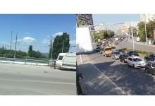 Огромни задръствания заради ремонт на 100 метра от Аспарухов мост, а в почивните дни никой не работи?!?