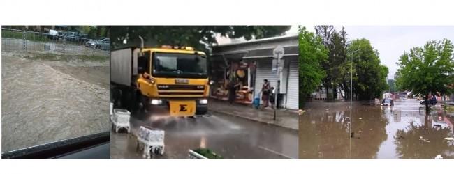 Управленска неадекватност във Варна: Целият град е наводнен, а водоноски мият улиците!?!