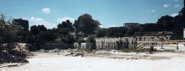 Строителството на стадион Варна в снимки