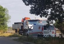 ДАИ са спрели и са свалили номерата на камиона с озвучителната техника за протестите