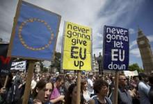 Пореден многохиляден протест срещу Brexit разтърси Лондон