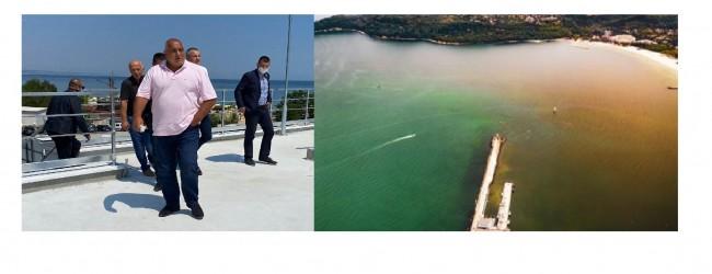 Борисов: Във Варненския регион морето е 100% идеално за къпане!!!