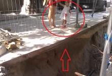 Необезопасен ремонт в центъра на Варна е сериозна заплаха за живота и здравето на варненци