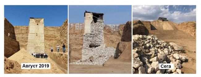 Видимите резултати: Могилата Малтепе – уникален градеж на 2000 г. – съсипан само за година *