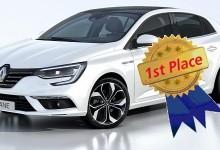 """Renault Megane спечели най-престижната автомобилна награда у нас """"Автомобил на годината 2017″"""