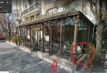 Застроен тротоар във Варна по документи се оказва … слънцезащитна тента*