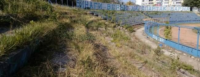 "Привърженици на Спартак Варна организират в неделя почистване на стадион ""Спартак"" с неделно барбекю"