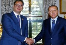 Какви цели преследва Ердоган в Сърбия?
