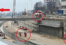 Защо Хидрострой не спазва законовите разпоредби за безопасна работа при строителството на бул. Левски?