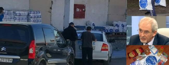 Полицията атакува склад, където има тонове с храни за купуване на гласове от ДОСТ! Има и задържани лица!