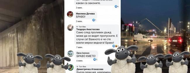"""Варна под вода, овцете блеят """"Браво, кмете!"""""""