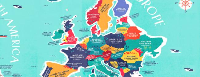 Какво значат имената на държавите в Европа