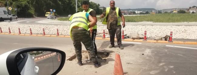 Видимите резултати: Нарязаха асфалта и на новия булевард В.Левски във Варна!