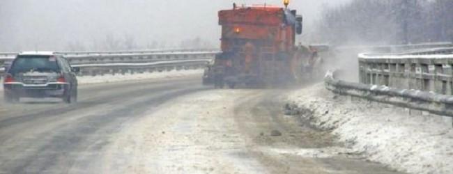 Сняг вали в цялата страна! Тръгвайте на път само добре подготвени! Пътищата са проходими при зимни условия