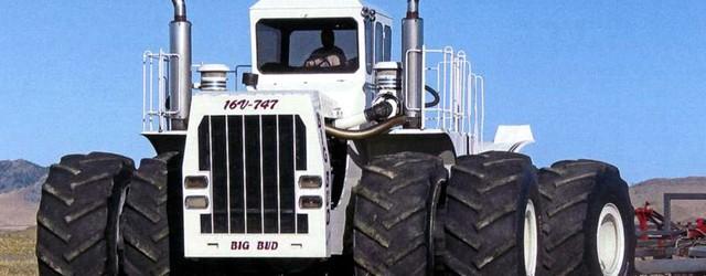 Кои са най-мощните трактори в света?