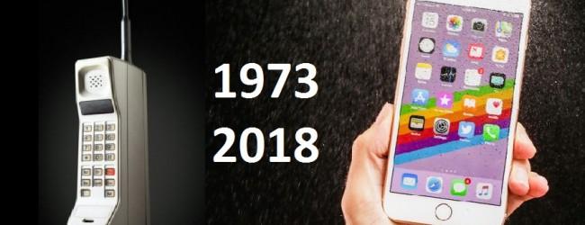 Годишнина: Мобилният телефон стана на 45 години
