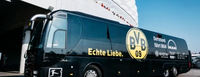 Автобусът с играчите на Борусия Дортмунд е взривен!