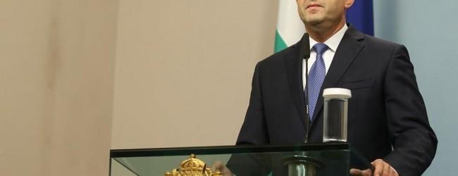 Президентът Румен Радев отказа да издаде указ за избрания от ВСС Иван Гешев