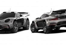 Тунинг компанията Gemballa превърна Porsche 911 в сериозен офроудър