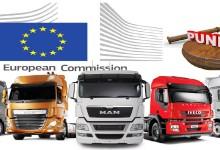 Европейската комисия уличи в картел DAF, Daimler, Iveco, Scania, MAN и Volvo/Renault. Заплашва ги глоба от 2,6 млрд. евро