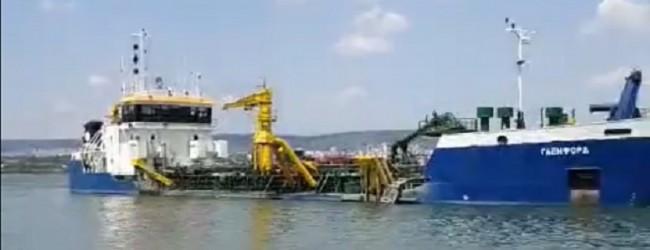 Правителството разреши удълбочаването на канала към пристанището на Доган