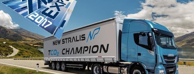 Truck Expo 2017 летище Лесново: Iveco представи първият камион на природен газ