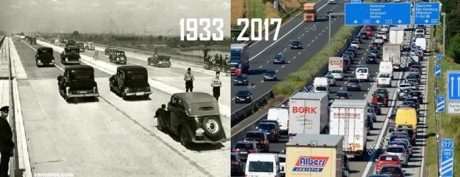 Немските аутобани на Хитлер се ползват и днес