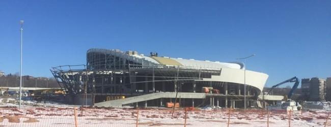 """Добрата новина: Новата спортна зала """"Арена Шумен"""" ще бъде завършена тази година"""