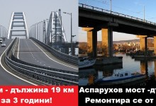 Строят 19 километров мост за 3 години, а Аспарухов мост се ремонтира от далечната 2013 и още не е готов