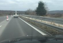 Кога ще бъде пусната ремонтираната част от пътя след Аспарухов мост в посока Бургас? Чакаме изборите ли?