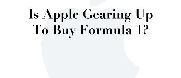 Apple купува Формула 1 !