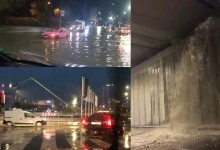 """Булевардът """"Левски"""" струващ над 115 милиона лева пропадна още на първия дъжд"""