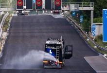 Как 3,6 км от натоварена магистрала в Германия бе изцяло ремонтирана и преасфалтирана за 88 часа