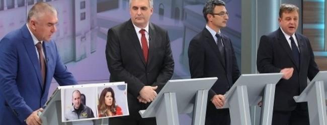 Дебатът по бТВ: Марешки долетя от Варна , Цачева не я пуснаха, генерал Радев дезертира, а Калфин спечели
