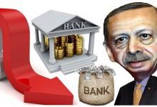 Ердоган заплаши турските банки с обвинения в държавна измяна ако не свалят лихвите си