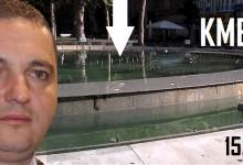 Видимите резултати: На празника на Варна фонтана в центъра не работи и е потънал в тиня и мръсотия