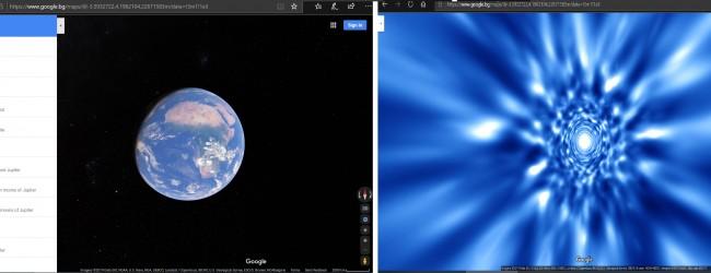 """Google Maps добави космическа функция за феновете на """"Междузвездни войни"""""""