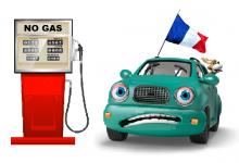 Бензиностанциите във Франция останаха без горива!