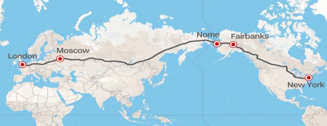 От Лондон до Ню Йорк с влак или кола? Русия предлага изграждането на най-дългият път в света