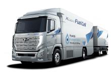 Hyundai представи първия в света тежкотоварен камион с горивни клетки