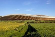 В Англия ще построят първия в света стадион направен изцяло от дърво