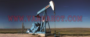 Oil well in the Texas Panhandle.