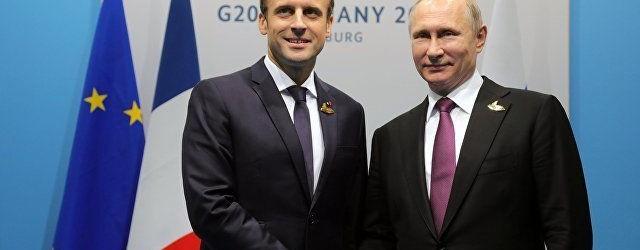 След Меркел и Макрон отиде на крака при Путин